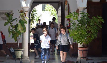 Información sobre la matrícula de los alumnos de infantil y primaria